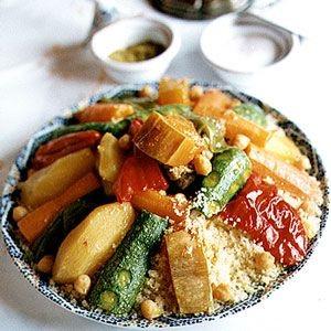 Vegetarian Moroccan Couscous